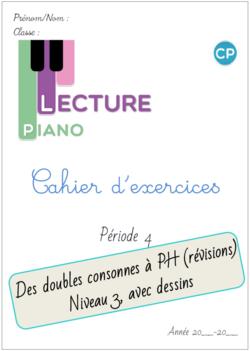 Cahier d'exercices Piano de la P4