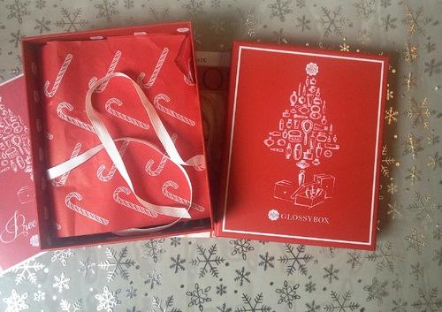 Ma première Glossybox...Precious Christmas