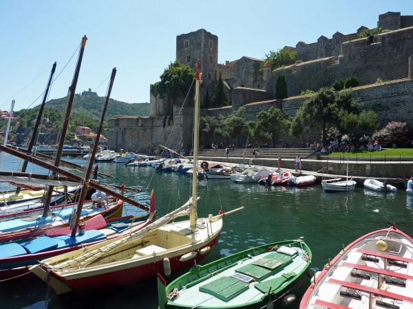 Collioure - Le Château Royal et le port