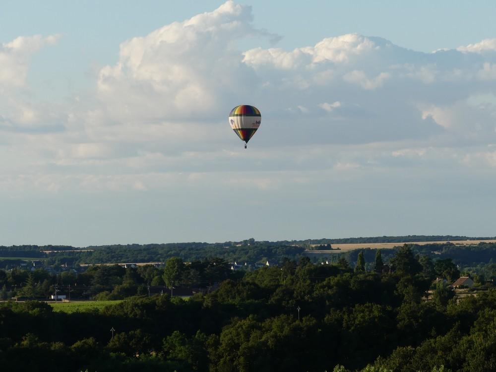 Vol en montgolfière : les autres ballons...