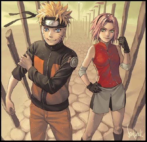 Naruto ou Sakura ?