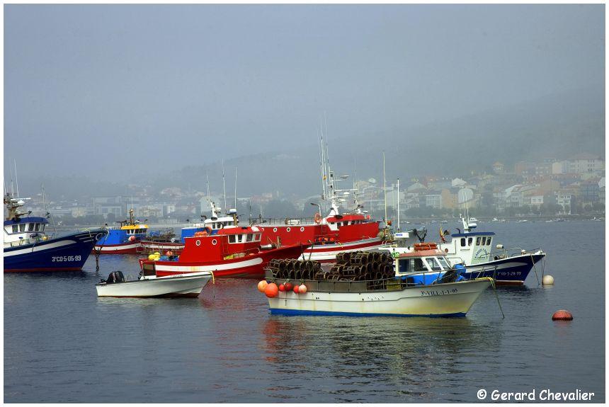 Le port de pêche - Corcubion (Galice)