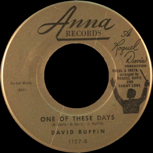 "David Ruffin : Album "" My Whole World Ended "" Motown Records MS685 [ US ]"