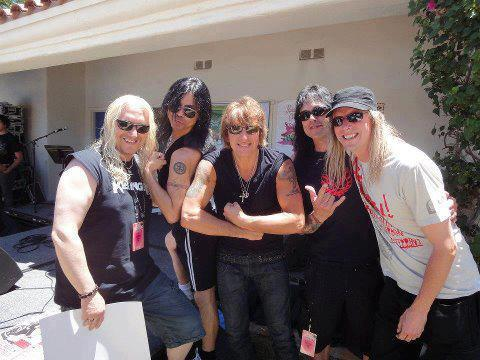 "CANADIAN ROCKERS ""KILLINGER"" WITH RICHIE SAMBORA AT SUNSET SESSIONS IN PALM SPRING 2012."