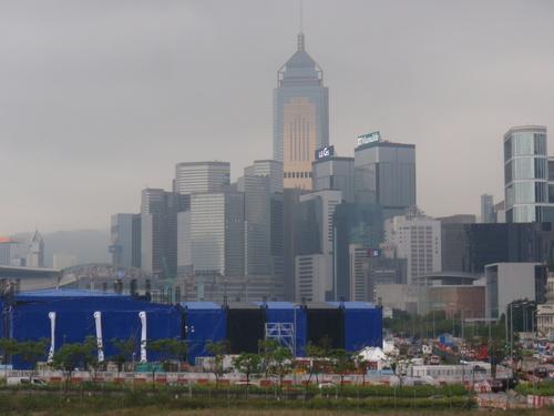 Notre escale à Hong Kong, vue sur la ville