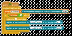 Servomoteur pour mBot