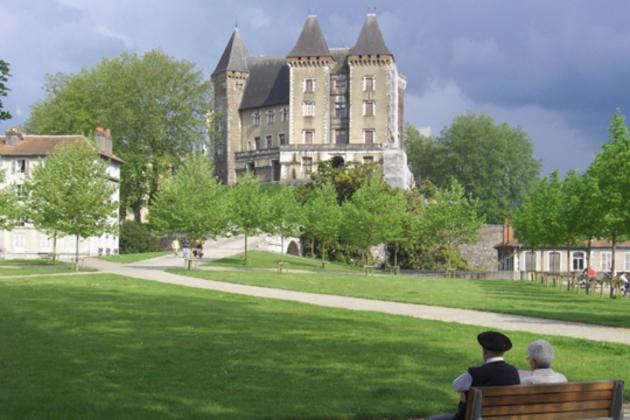 Pau et son château