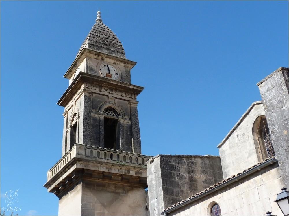 Fontvieille (Fr-13) ~ L'Eglise Saint-Pierre-Es-Liens ...
