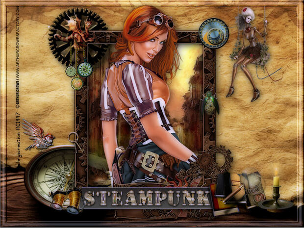 Une belle Steampunk