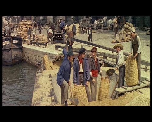 LES MYSTERES DE PARIS - BOX OFFICE JEAN MARAIS 1962