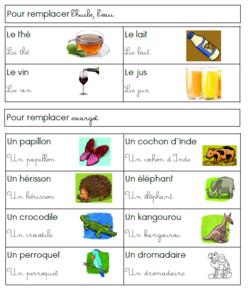 Produire un poème à la manière de Une souris verte