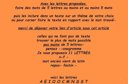 J-eu de Lettres n°144