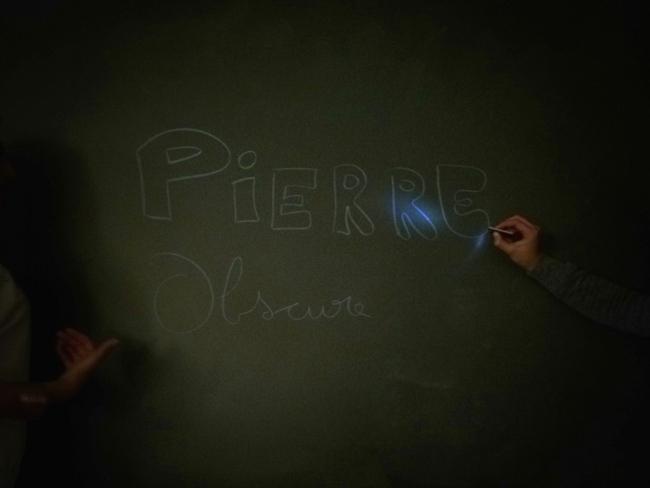 Pierre Obscure à l'école