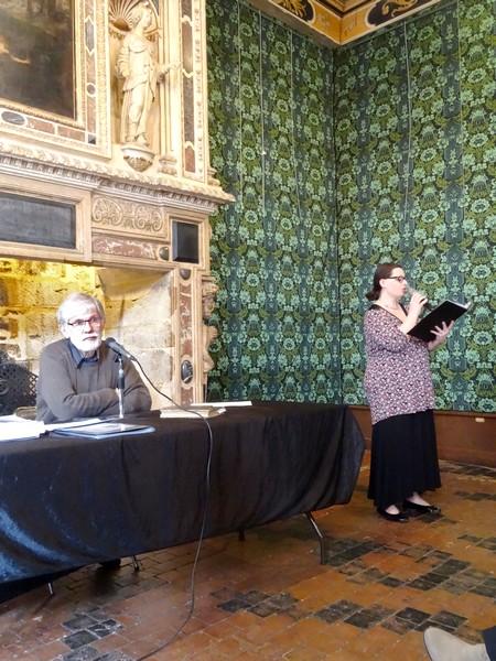 """""""Antoinette Quarré, poétesse et lingère"""", une conférence de Jenry Camus à Dijon pour le Printemps des Poètes..."""