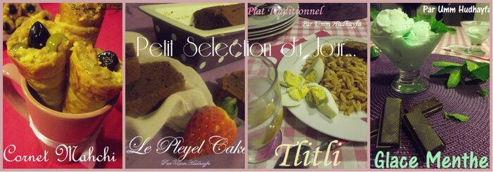 Petit Selection du Jour...