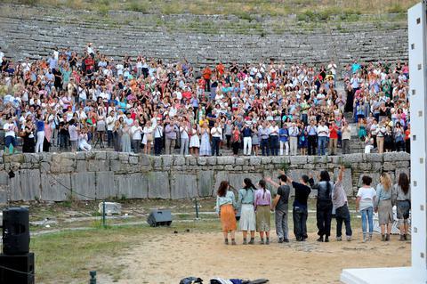 Le théâtre antique de Dodone (Epire) a revécu les 17 et 18 juillet