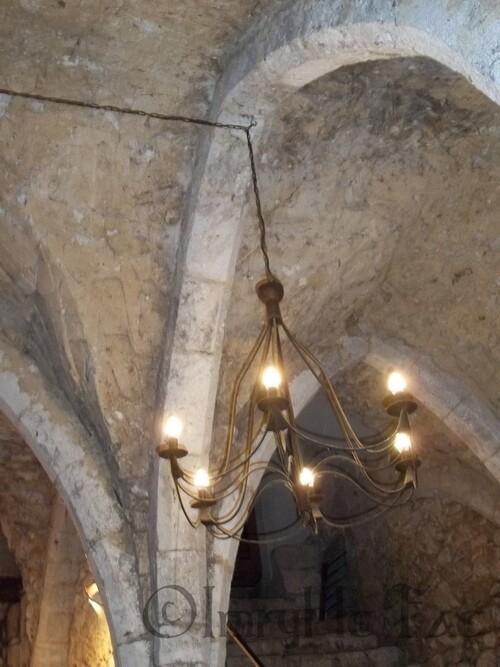 Voûte Gothique du XIIIe siècle.