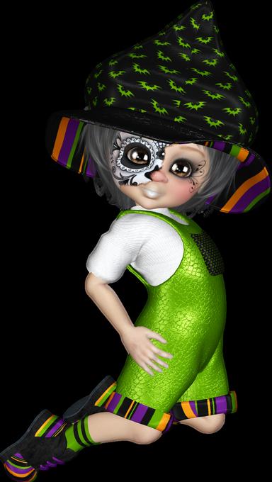 Tubes cookies en vert