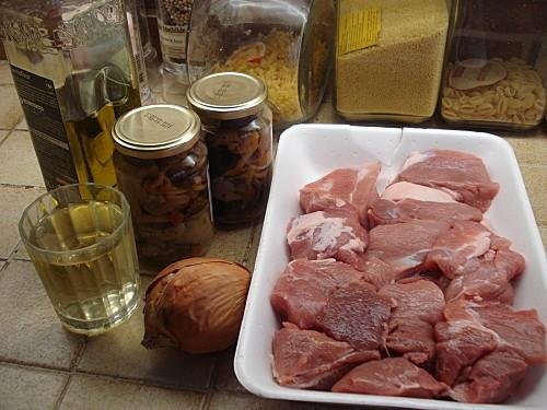 Sauté de Porc aux Champignons