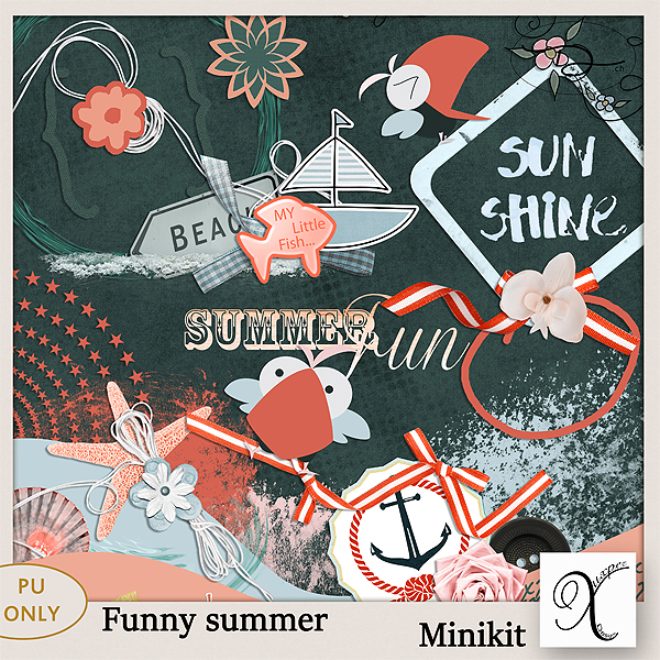 Funny summer Kit