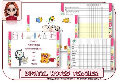 digital notes teacher