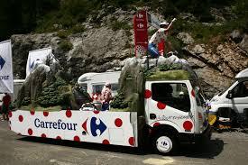 Photos Caravane  Publicitaire  TOUR  DE  FRANCE  2