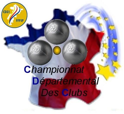 Championnats Départementaux des Clubs 2017.
