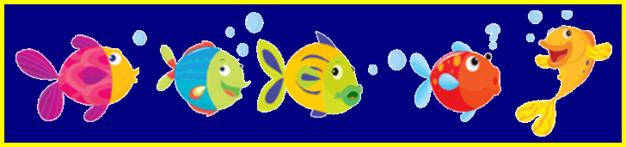 """Résultat de recherche d'images pour """"barre de séparation blog poisson"""""""