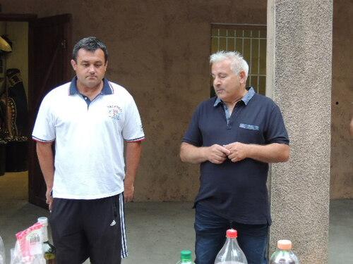 Reception à st jean le centenier pour l'equipe a Mario Vivenzio