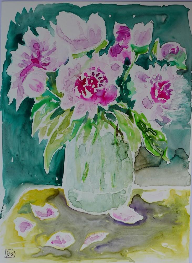 Bouquets de fleurs sur papier lanavanguard...