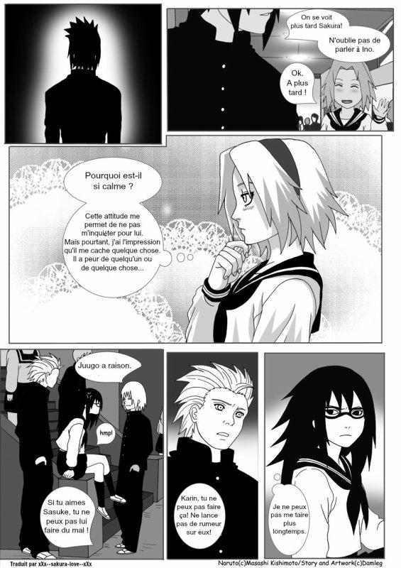Konoha High School - Chapitre 7 (page 1 à 5)