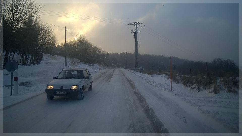 Ma région ( Prévenchères ) Lozère l'état des routes