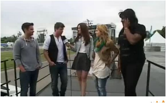 Résumé photos, vidéo de Wilfred invité à la première partie de Céline Dion