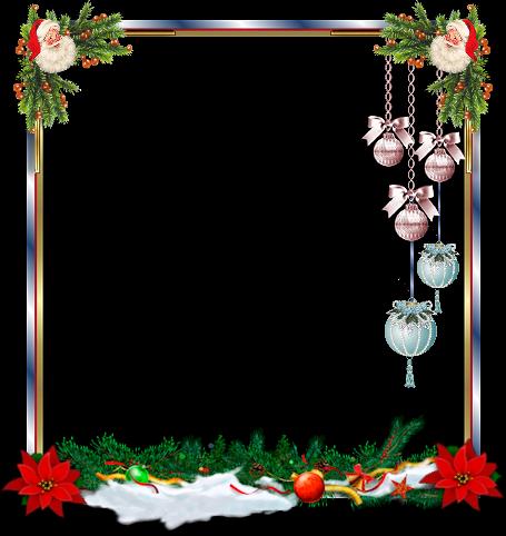 Tubes de Noël et fonds