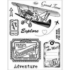 Viva Decor Silicone Stamp: Adventure