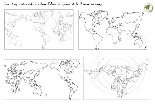 Espace : L'Asie et la Russie