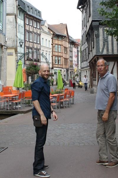 2 Rouen avec Guirec et Charlotte (70)