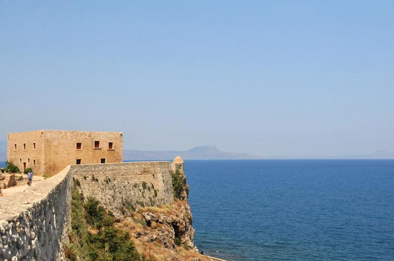 vue prise de la forteresse de Réthymnon