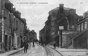 cartes-postales-photos-GRANDCAMP-LES-BAINS--La-Grande-Rue-G