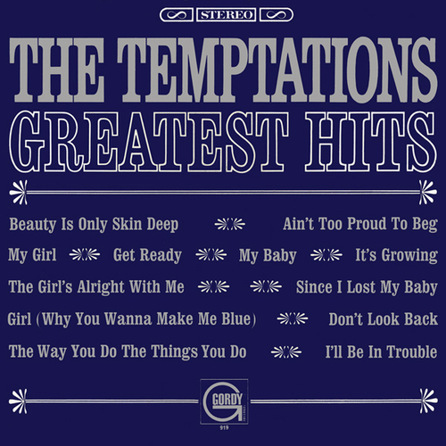 "The Temptations : Album "" Temptation's Greatest Hits "" Gordy Records GS 919 [US]"