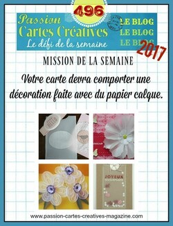 Passion cartes Créatives #496 !