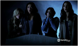 Pretty Little Liars 2x05 The Devil You Know & 2x06 Never Letting Go