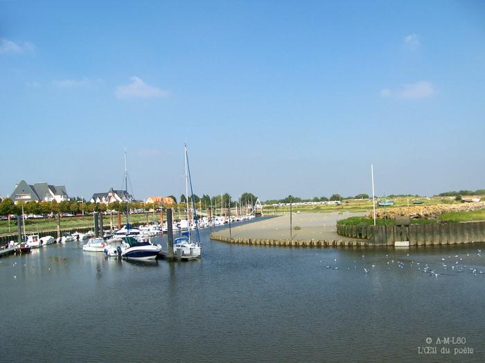 Le Crotoy- Port de plaisance