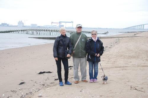 Avec Claudine et Jean Paul