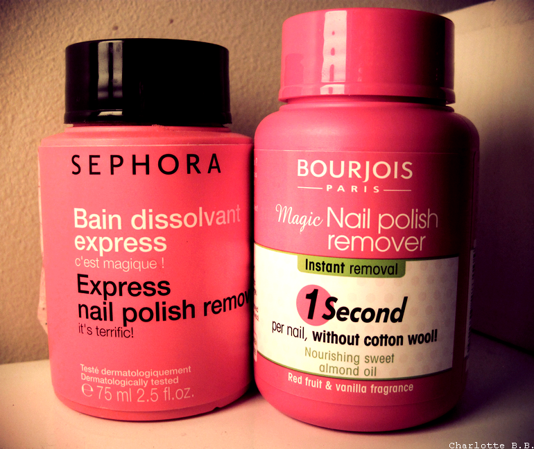 [Bain dissolvant] Sephora VS Bourjois, ça donne quoi ?