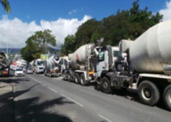 Les transporteurs perturbent le fonctionnement des centrales de béton