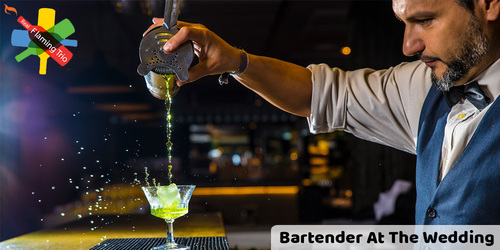 Want a bartending service at the wedding venue?