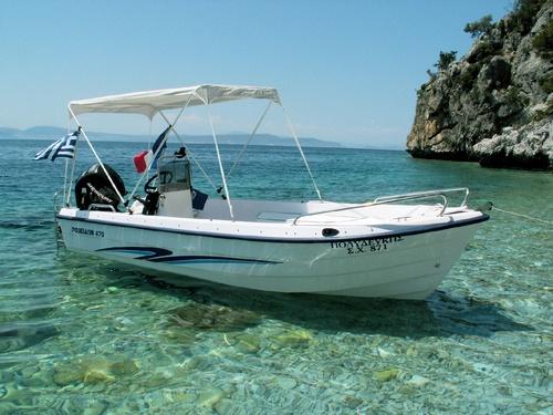 Poseidon 470 30cv Mercury puis 40cv Suzuki