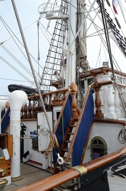 Escale à Dunkerque - Le Belem