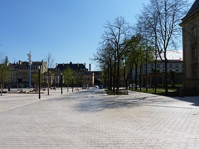 La Nouvelle place de la République de Metz 22 Marc de Metz